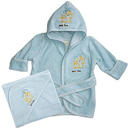 Funkoos Organic Baby Boy Bath Set