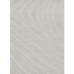 "Jullian Transitional Ivory Shag Rug (7'7"" x 7'7"")"