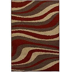 Mandara Brown Shag Rug (5' x 8')