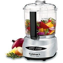 Cuisinart Brushed Stainless Steel Mini-prep Food Processor (Refurbished)