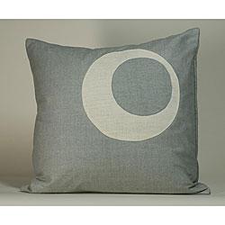 'Half Moon' Powder Blue 20x20-inch Decorative Pillow