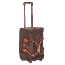 Bric's Life Brown 21-inch Rolling Duffel