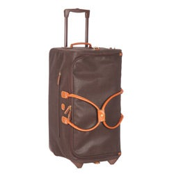 Bric's Life Brown 28-inch Rolling Duffel