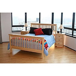 Shaker Full 3-piece Pine Bedroom Set