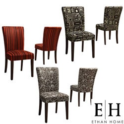 ETHAN HOME Decorative Parson Side Chairs (Set of 2)