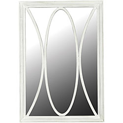 Portofino White Wall Mirror