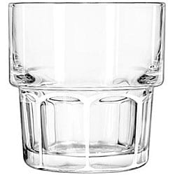 Libbey Gibraltar Stackable 8-oz Rocks Glasses (Case of 36)