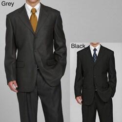 Eddie Domani Men's 3-button Suit