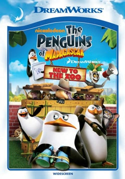 Penguins of Madagascar - New to the Zoo (DVD)