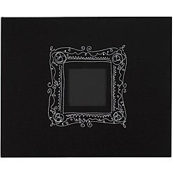 American Crafts Black and Embroidered Frame 3-ring Album (12 x12)
