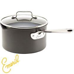 Emeril Hard Anodized 3-quart Sauce Pot and Lid