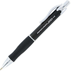 Papermate Apex Retractable Black Ball Point Pens (Pack of 12)