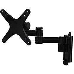 Arrowmounts Full Motion Articulating Wall Mount for LED/LCD TVs up to 27 inches AM-P16B Black