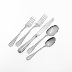 Wallace 'Continental Bead' 77-piece Stainless Steel Flatware Set