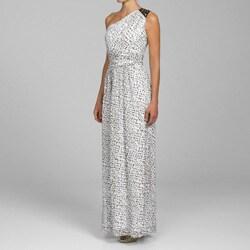 Shoulder Maxi Dress on Max   Cleo Women S One Shoulder Maxi Dress   Overstock Com