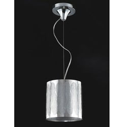Stainless Steel Leaf Shade Mini Pendant
