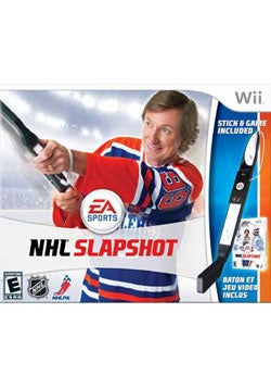 Wii - NHL Slapshot Bundle - By EA Sports