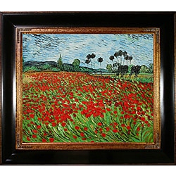 Van Gogh 'Field of Poppies' Canvas Art