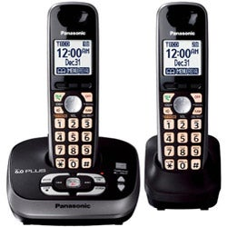 KX-TG4032B Expandable Digital Cordless Phone w/ 2 Handsets (Refurbished)