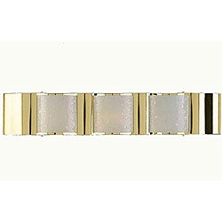 Metro 3-light Brass Bathroom Fixture