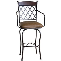 Santa Clara 30-inch Swivel Bar Stool