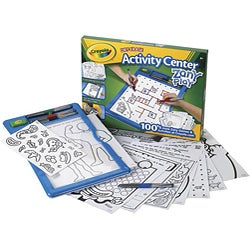 Crayola Zany Play Dry-Erase Activity Center