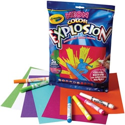 Crayola Neon Color Explosion Kit