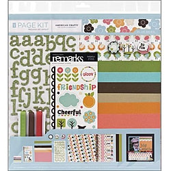 Blue Skies Scrapbook Page Kit (12 x 12)