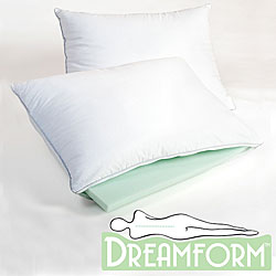 Dream Form Memory Foam, Latex and Microfiber Pillow
