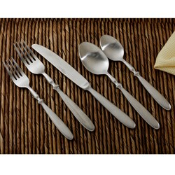 Hampton Forge Brushed Bistro 20-piece Flatware Set