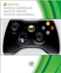 Xbox 360 Matte Black Wireless Controller