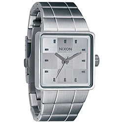 Nixon Quatro Men's White Dial Stainless Steel Watch
