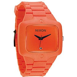 Nixon Rubber Player Orange Molded Silicone Watch