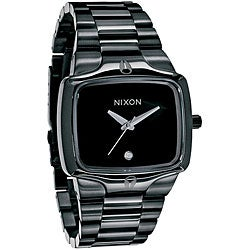 Nixon Men's 'Player' All Black Stainless Steel Watch