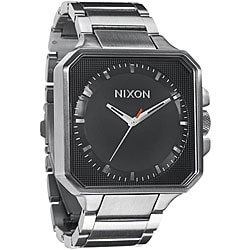Nixon Platform Men's Black Stainless Steel Watch