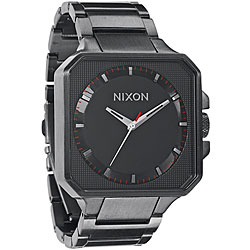 Nixon Platform Men's Gunmetal Stainless Steel Watch