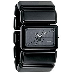 Nixon Women's 'Vega' Black Polycarbonate Watch