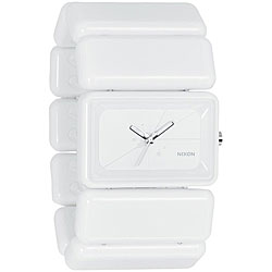 Nixon Women's 'Vega' White Polycarbonate Watch