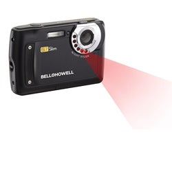 Bell + Howell S7 12MP Night Vision Slim Black Digital Camera