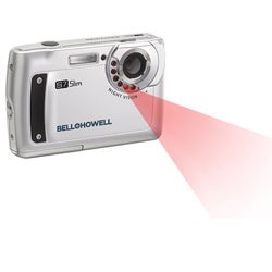 Bell & Howell Silver S7 Night Vision Slim 12MP Digital Camera