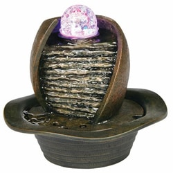 Ore International Earthtone Table Fountain
