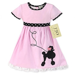 Sweet Jojo Designs Girls' Poodle Swing Costume Dress
