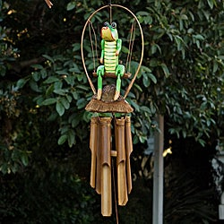 Bamboo 'Croco Jambo' Wind Chime (Indonesia)