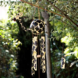 Bamboo 'Giraffe' Wind Chime (Indonesia)