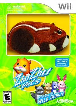 Wii - Zhu Zhu Pets 2: Featuring The Wild Bunch (Limited Edition) - By Activision Inc