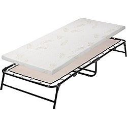 Fold-up Twin Memory Foam Guest Bed