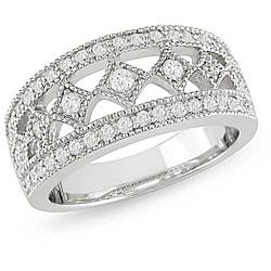 18k White Gold 5/8ct TDW Diamond Fashion Ring (G-H, SI1-SI2)