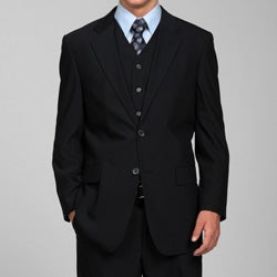 Men's Navy 3-piece Suit