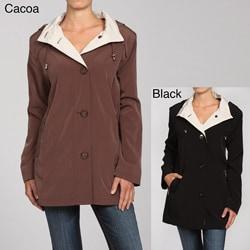 Nuage Women's Faux Silk Jacket