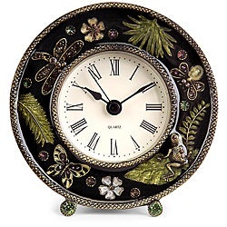 Provence Natures Jewels Desk Clock